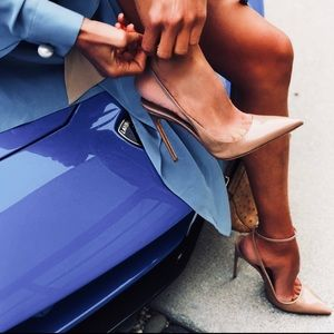 Iconic VICKY shoes in nude patent